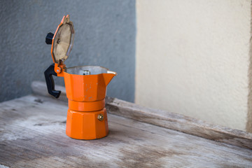 coffee machines,orange coffee pot
