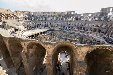 Colosseo, interno e sotterranei - Roma