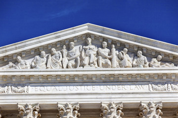 US Supreme Court Statue Capitol Hill Washington DC