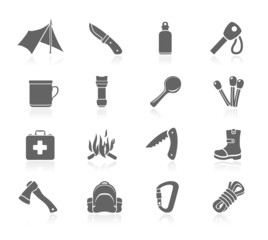 Bushcraft icons