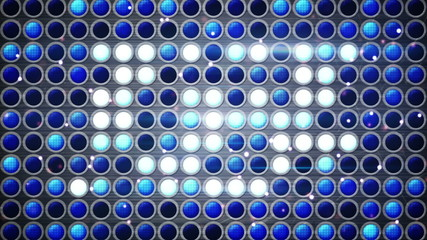 flashing blue light bulbs festive loopable background