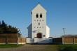 canvas print picture - Kirche in Kirkehavn in dänemarks Jütland 2