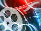 Fototapeta Film reel background