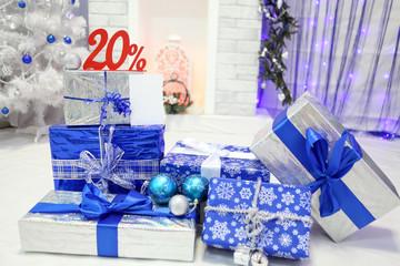 Скидка на новогодние подарки