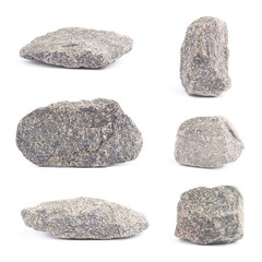 Granite stone isolated