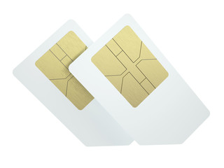 Double SIM cards
