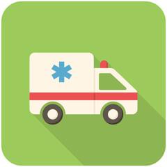 Ambulance car icon