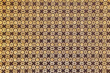 Gild wallpaper in Alcazar palace