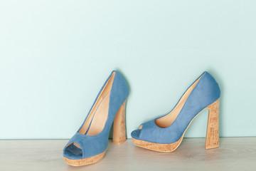Fashionable Peeptoe High Heels
