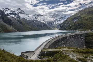 The Mooserboden dam in Austria