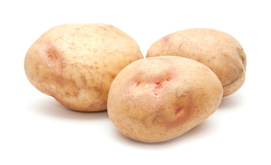 raw pink eye potatoes