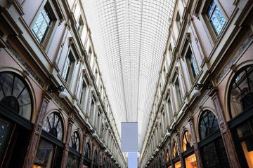 Royal Galleries of Saint-Hubert in Brussels