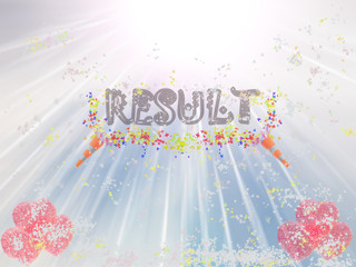 Result Word Showing Income Earned From Business, Success,