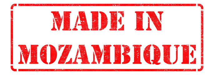 Made in Mozambique on Red Stamp.