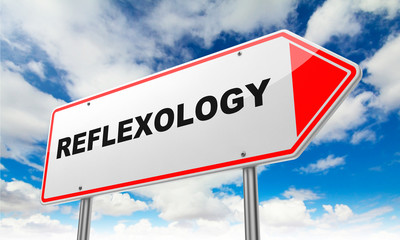 Reflexology on Red Road Sign.