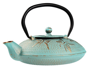 Metallic kettle for tea