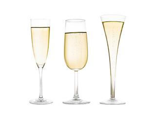Champagner trinken zu Silvester