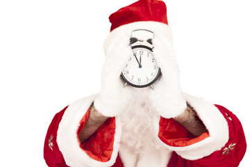 Santa Hold Alarm Clock