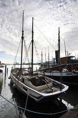 Helsinki, Finland, 28 September: berth Marina in the centre of H