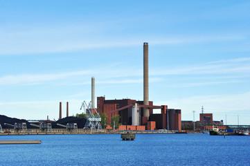 Cogeneration in Central Helsinki, Finland
