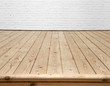 wall and wood floor background