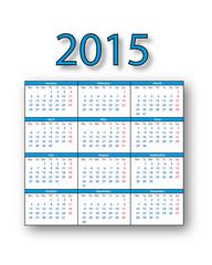 Calendario 2015 - English