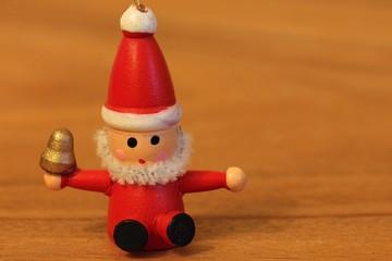 Wooden Christmas decoration - Little Santa