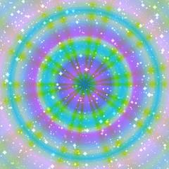 Magic ring generated texture