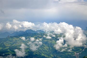 Zentralschweiz - Aussicht über`s Muotathal