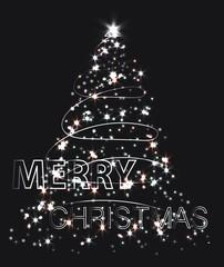 Creative Shining Christmas Tree.