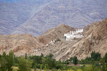 Chemdey gompa, Buddhist monastery in Ladakh, India