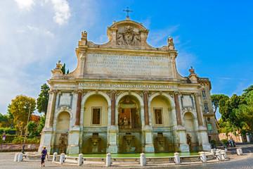Fontana Paola in Rome, Italy.