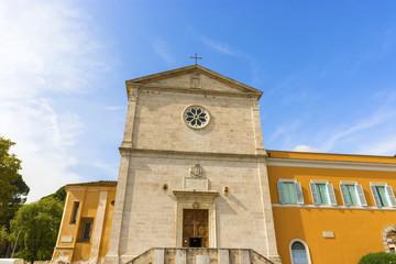 The Church of San Pietro in Montorio in Rome, Italy.