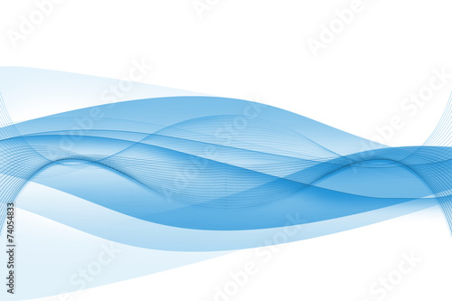 Fotobehang Abstract wave Abstrakt Hintergrund Wellen rauch