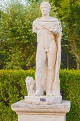 Statue in Rome, Italy.
