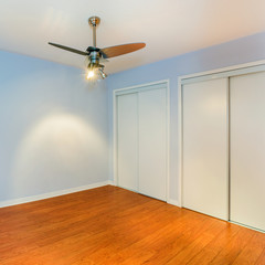 Empty Bedroom in a New Apartment