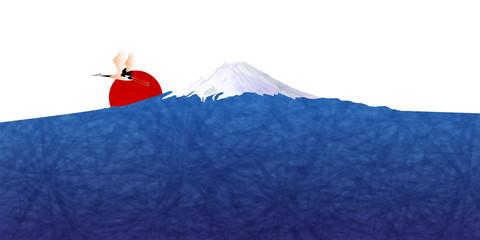 富士山 日の出 背景