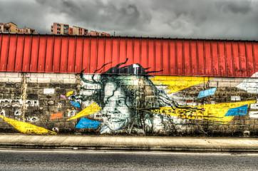graffiti portrait 7