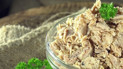 Portion of Canned Tuna (not loopable)