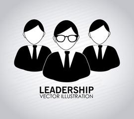 Teamwork design over white backgroundvector illustration