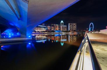 urban view at night
