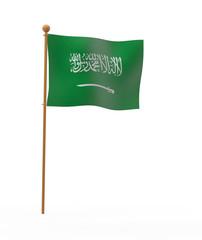 サウジアラビアの旗