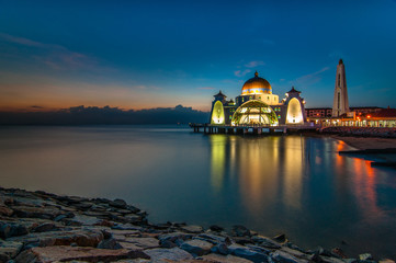 Bluehour floating mosque