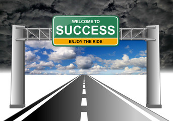 welcome to success yellow enjoy the ride 2sky with clouds