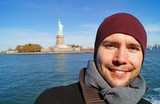 Junger Mann in New York