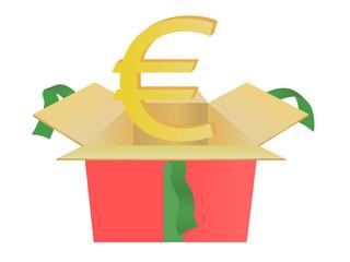 euros of gift box