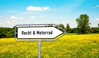 Recht und Motorrad