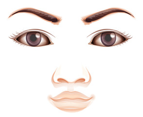 A facial expression