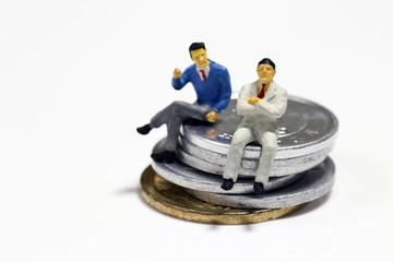 ビジネスマンと消費税