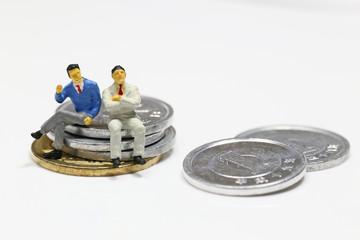 ビジネスマンと増税
